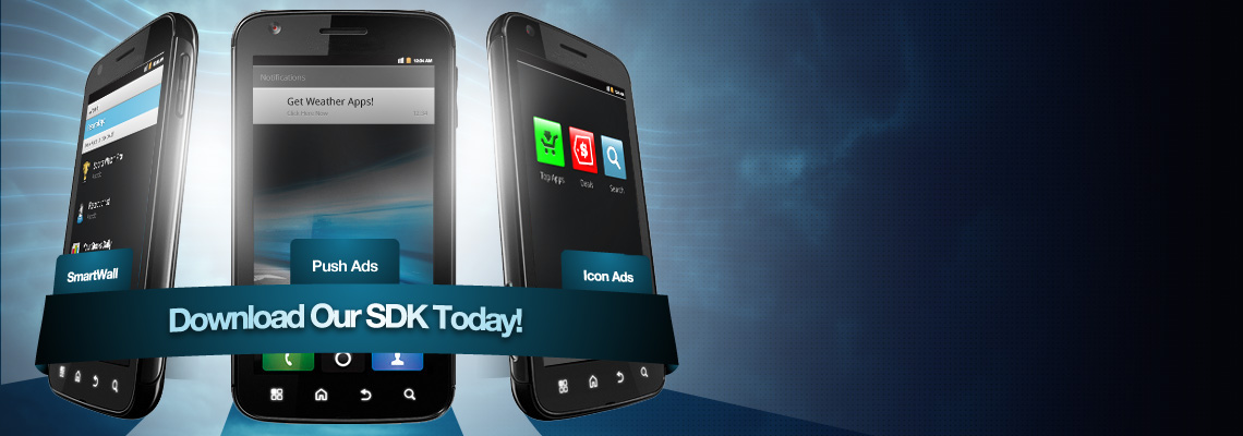 Download the Airpush mobile ad SDK